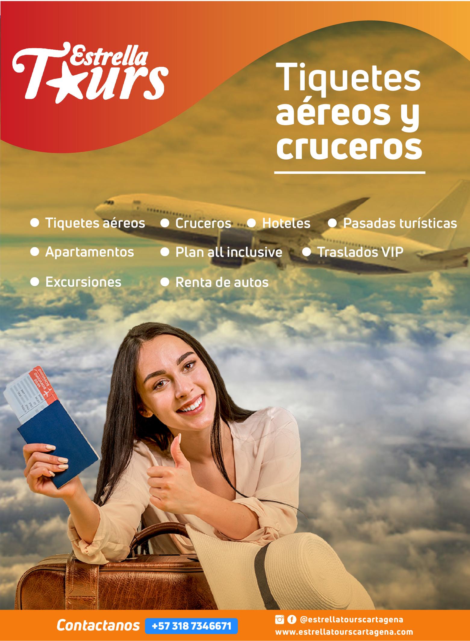 Tiquetes aereos